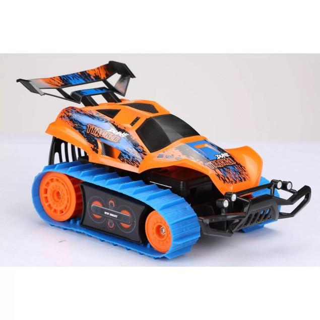 New Bright 6.4V internal Lithium Ion Battery 1:18 R/C Dirt Trax- Orange