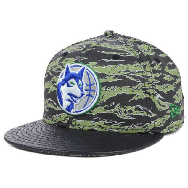 "Minnesota Timberwolves NBA New Era 59Fifty ""HWC Canimal"" Fitted Hat"