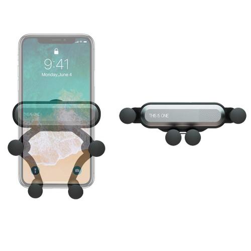 Gravity Car Phone Vent Mount Universal Cell Phone Holder