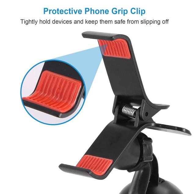 Universal Car Phone Holder 360° Rotation Car Windshield Phone Mount