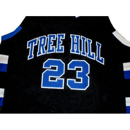 Nathan Scott #23 Black Basketball Jersey