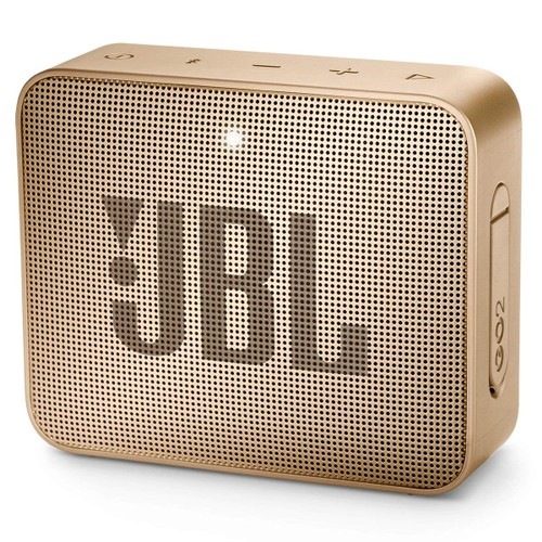 JBL GO 2 Portable Bluetooth Waterproof Speaker Champagne