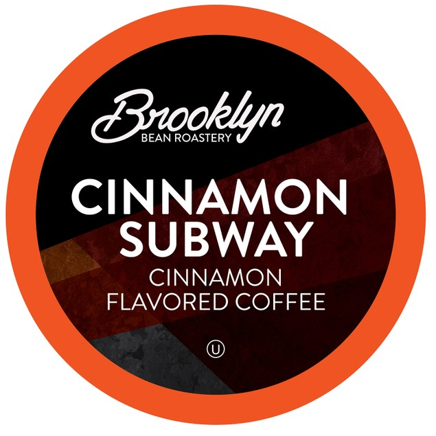 Brooklyn Beans Cinnamon Subway Coffee Pods for Keurig KCup Brewers,40 count