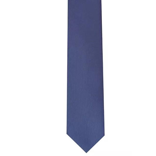Bar III Men's Fox Skinny Panel Tie Navy Size Regular