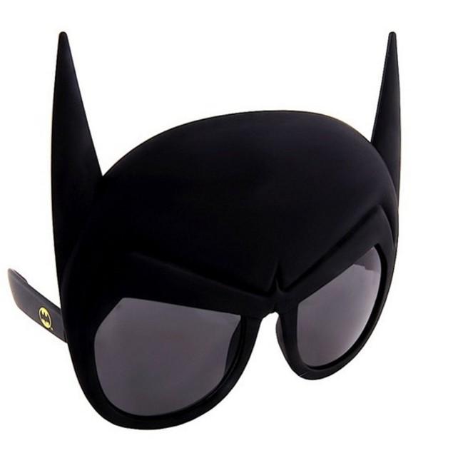Batman Head Officially Licensed Sun-Staches DC Comics Bruce Wayne Gotham
