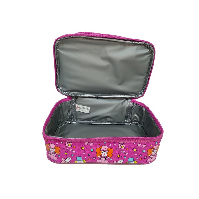 Smilykiddos Dual Slot Lunch Bag Pink
