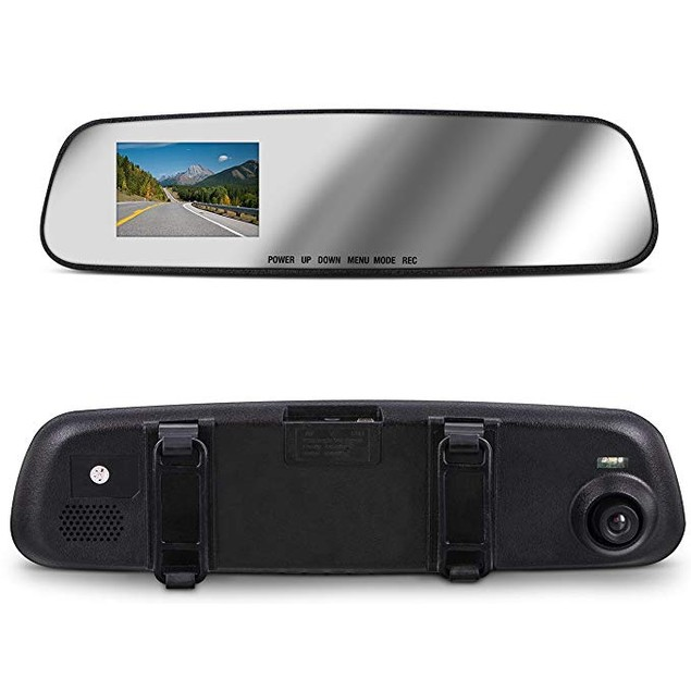 Aduro U-Drive MirrorCam Rear View Mirror Dash Cam