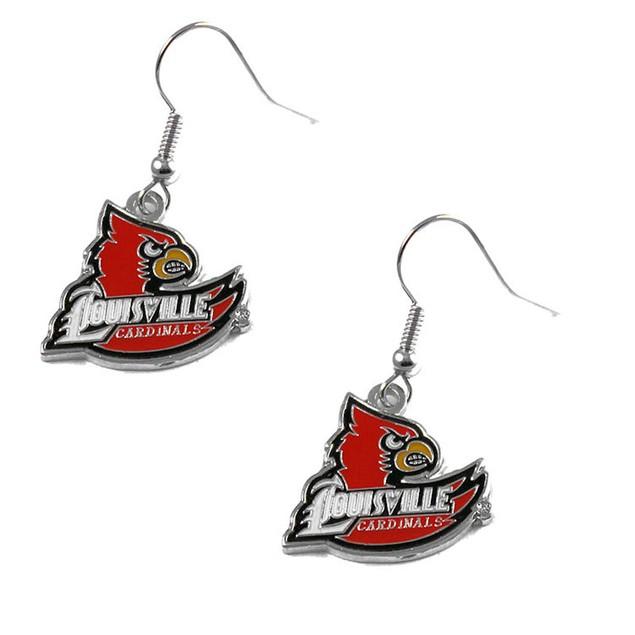 NCAA Louisville Cardinals Dangle Earring Set