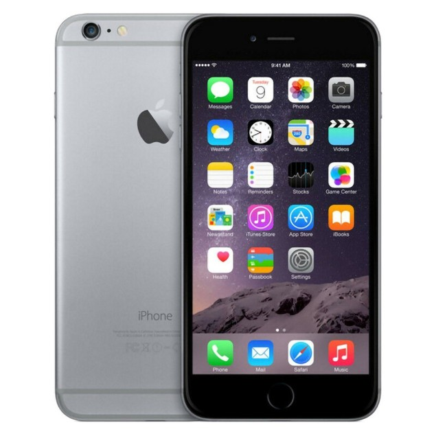 Apple iPhone 6 Plus 128GB Factory GSM Unlocked T-Mobile AT&T 4G LTE Smartphone - Space Gray - A Grade