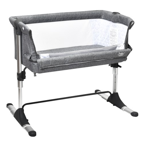 Baby joy Portable Baby Bed Side Sleeper Infant Travel Bassinet Crib W/Carry