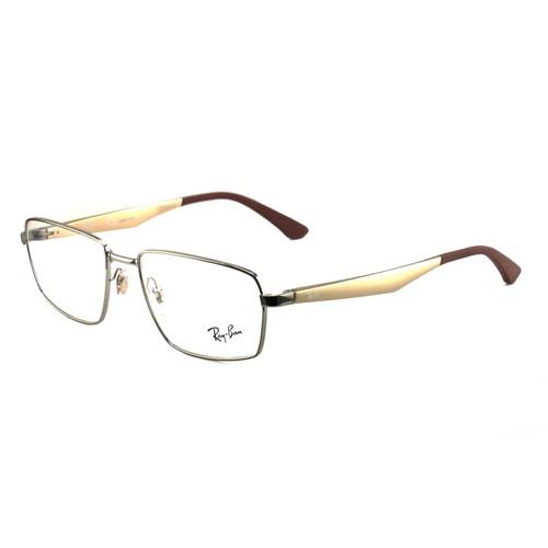 Ray Ban Eyeglasses RB 6334-2854 Silver/Bronze Aluminum 55 17 145