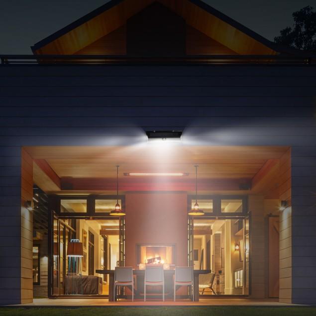 Solar Lights 118 LEDs Solar Wall Light Outdoor Motion Sensor Lamp