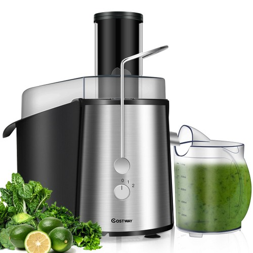 Costway Wide Mouth Fruit & Vegetable Electric Juicer