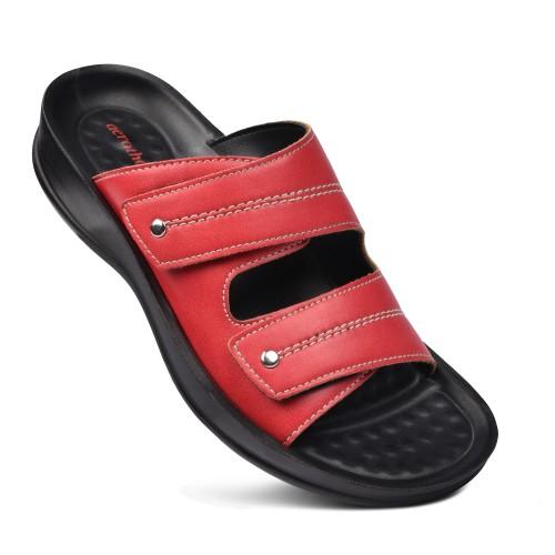 AEROTHOTIC Quinn Women's Comfortable Dual Strap Slide Sandals