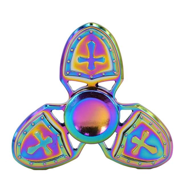 Crusade Fidget Spinner Rainbow