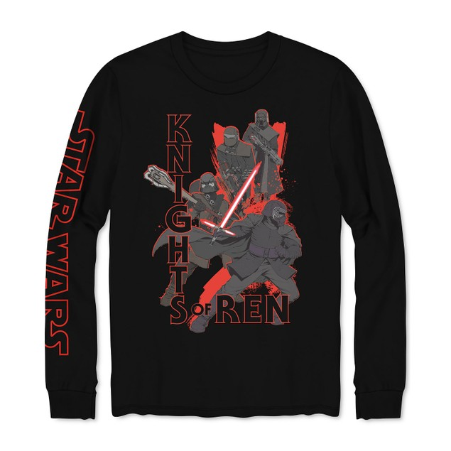 Hybrid Men's Star Wars Knights Of RenSweatshirt Black Size Large
