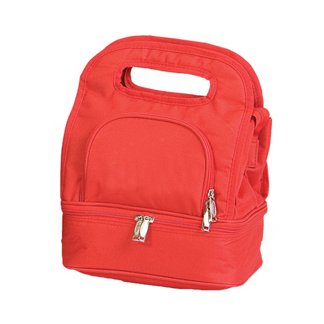 Picnic Plus Savoy Lunch Bag Solid Red