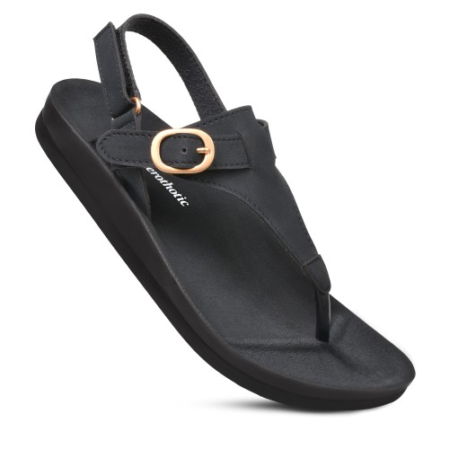 AEROTHOTIC Women's Ridge Arch Support Slingback Sandals