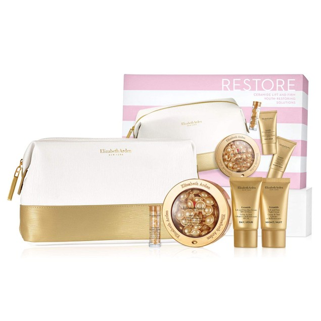 Elizabeth Arden Restore Ceramide Lift And Firm Youth-Restoring Solutions 5 PC Gift Set