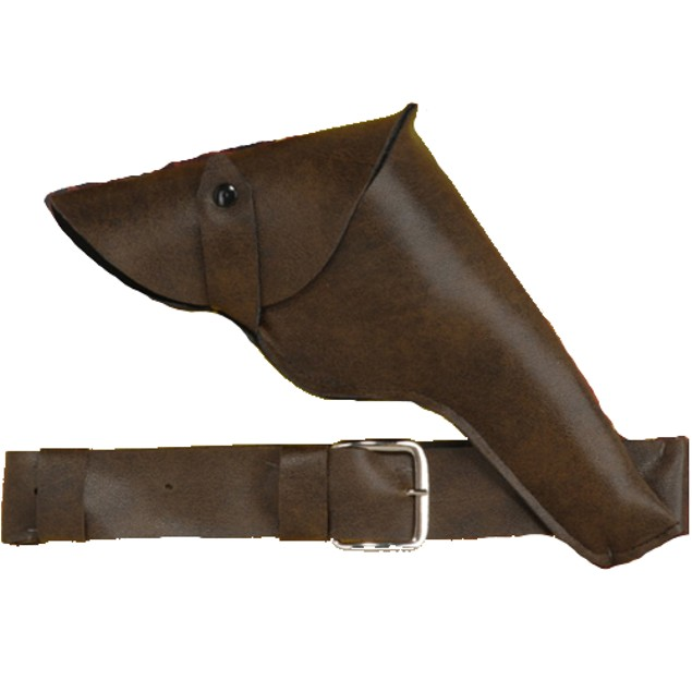 Brown Holster And Belt