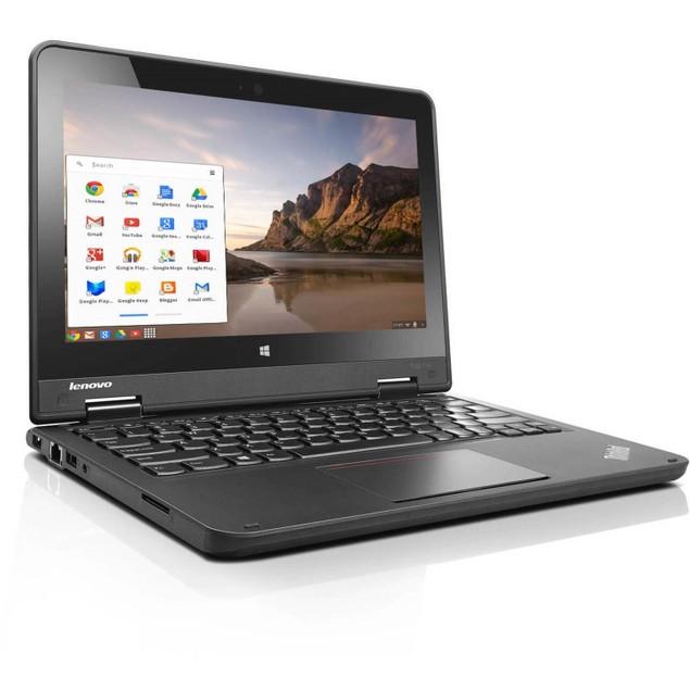 "Lenovo ThinkPad 11e Chromebook 11.6"" 16GB N2930 ChromeOS,Black (Refurbished)"