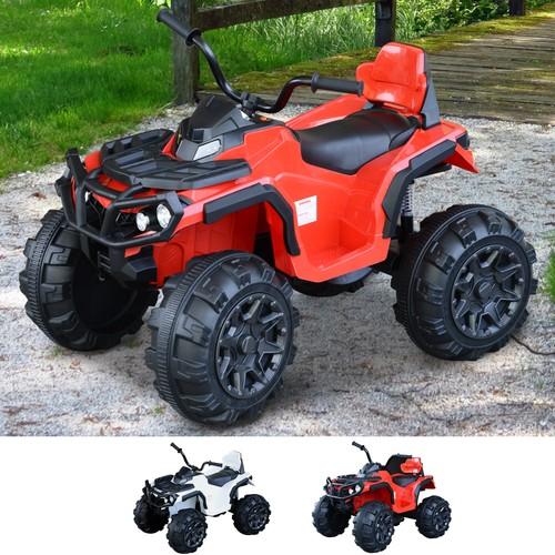 Outdoor Fun Driving ATV Car w/ Music/Radio Player & Smooth Suspension