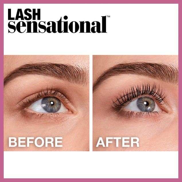 3-Pack Maybelline Lash Sensational Full Fan Effect Volumizing Mascara