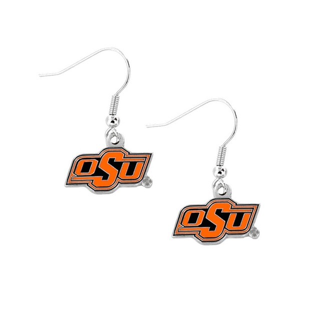 Oklahoma State Cowboys Dangle Earring Set NCAA Charm Gift