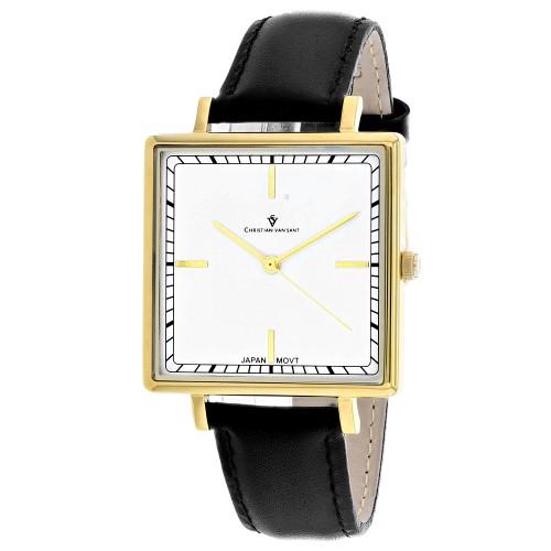 Christian Van Sant Women's Callista White Dial Watch - CV0412