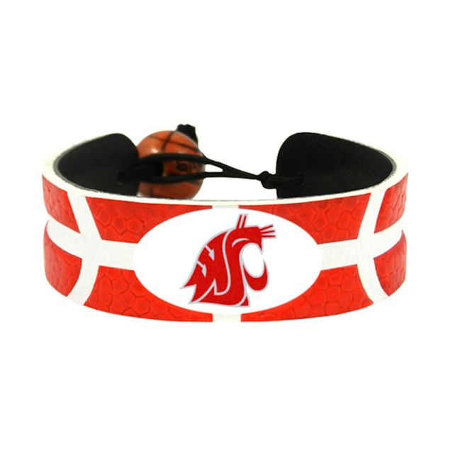 Washington State Cougars Team Color NCAA  Basketball Bracelet