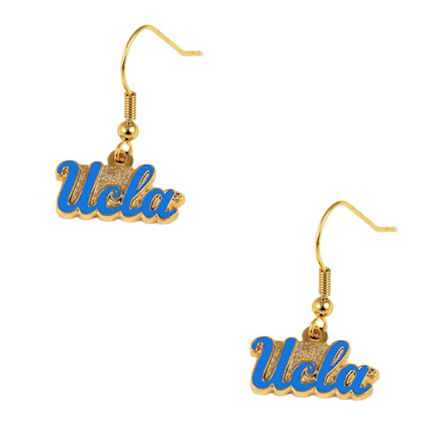 UCLA Bruins Dangle Logo Earring Set Charm Gift NHL