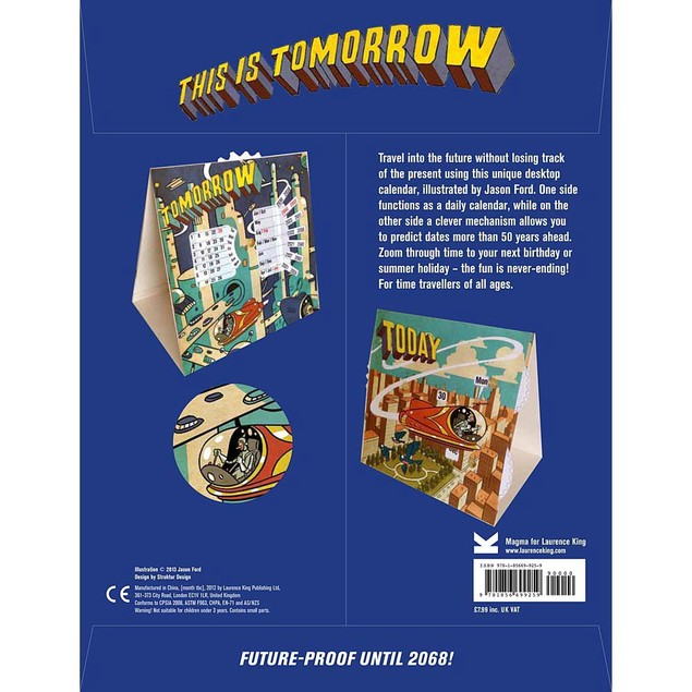 This is Tomorrow Perpetual Calendar, Non Dated Perpetual by Chronicle Books