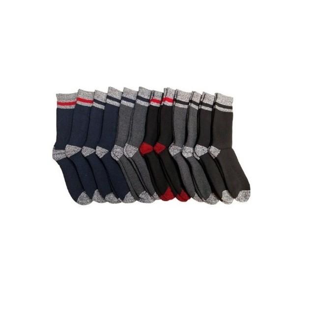 8 Pairs Men's Thermal Boot Socks
