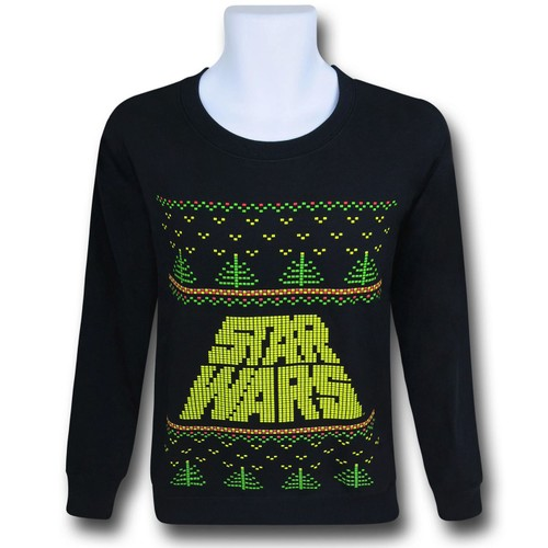 "Star Wars Logo ""Christmas Sweater"" Sweatshirt"