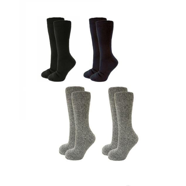 2-Pairs Clear Creek Women's or Men's Thermal Heat Sock