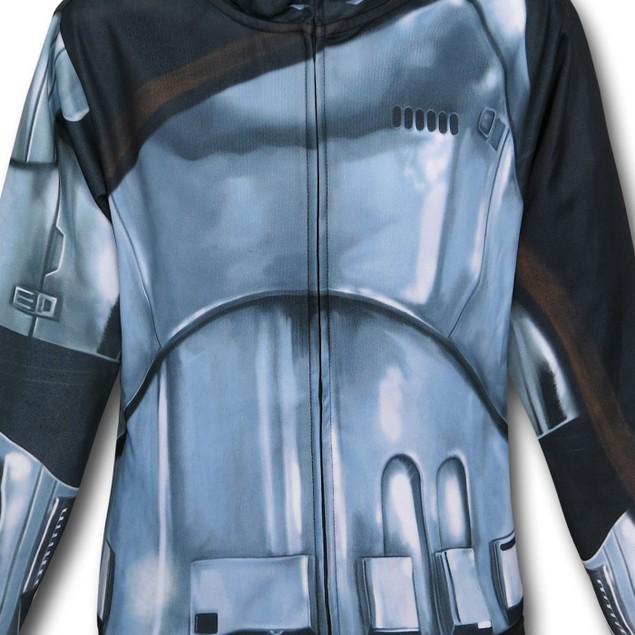 Star Wars Force Awakens Captain Phasma Costume Hoodie