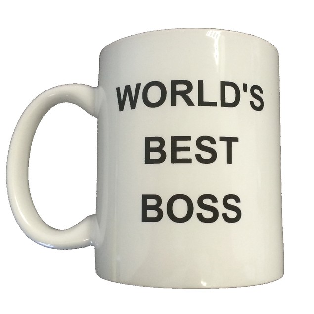 Michael Scott's World's Best Boss 11 oz Coffee Mug