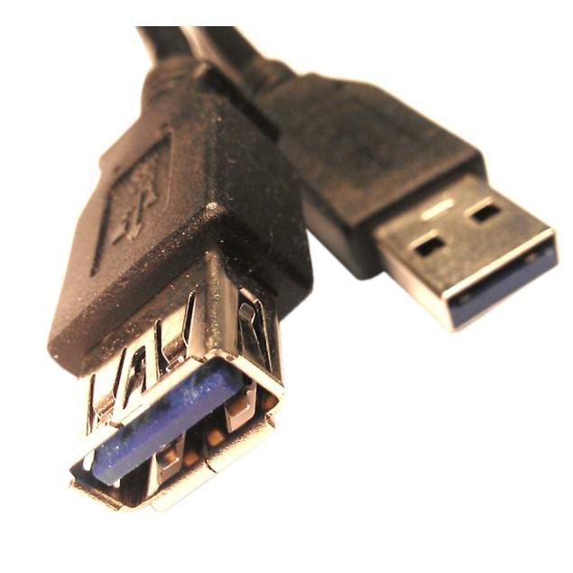 USB 3.0 Extension - 10 Feet - Black-  SuperSpeed