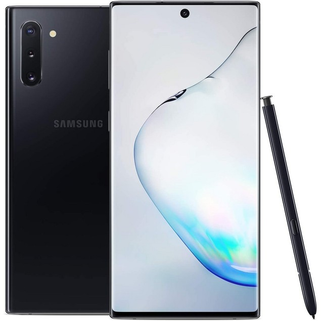 Samsung Galaxy Note 10+ 5G, AT&T, Black, 512 GB, 6.8 in Screen