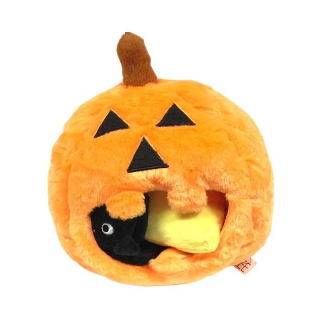 Midlee Pumpkin Find a Toy Halloween Dog Toy