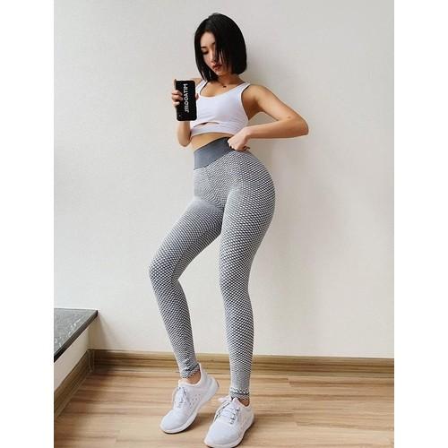 Lucia High Waisted Workout Leggings : Dark Grey