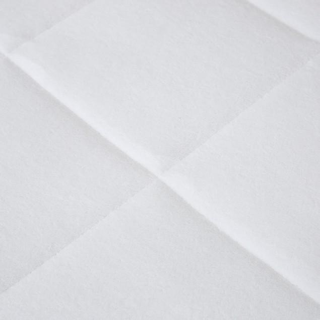 Bluestone Down Alternative Mattress Pad With  Fitted Skirt