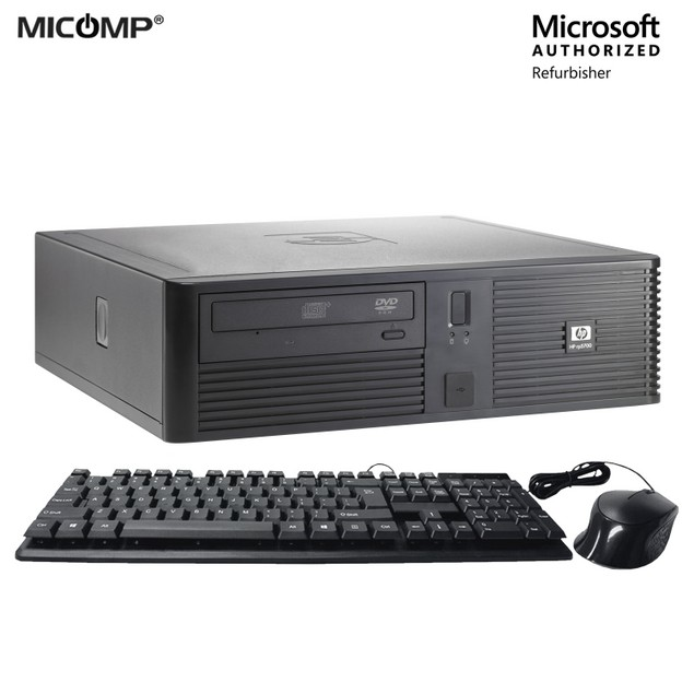 HP RP5700 Computer Bundle (4GB RAM, 2TB HDD, Mouse, Keyboard)
