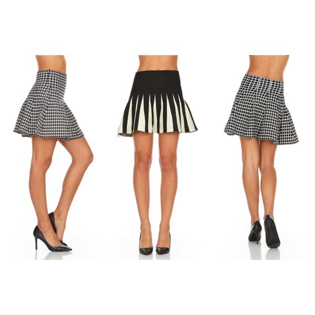 Women's Knit Sweater Skirts- 3 Styles