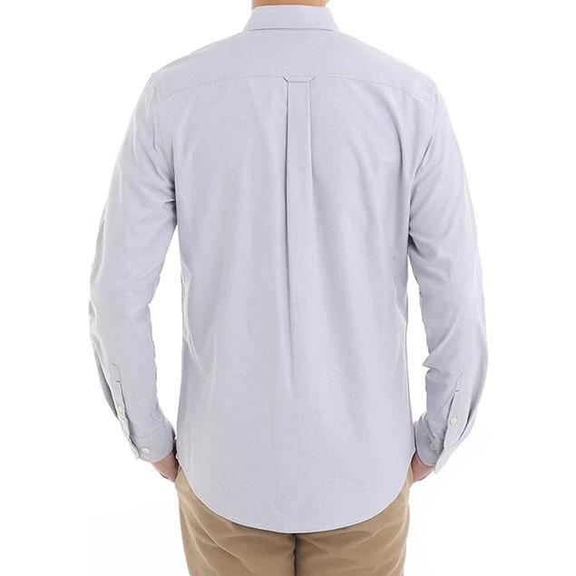 Piero Lusso Mens Slim Fit Solid Oxford Button (S-XL)