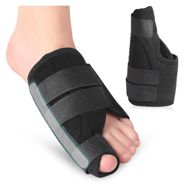Cotton Big Toe Thumb Valgus Corrector Toe With Rubber Plate