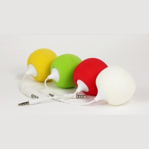 USB Music Speaker Ball - Black, Green, Red, White or Yellow