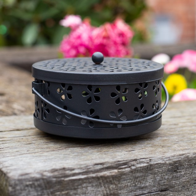 Mosquito Coil and Incense Holder | MandW Black