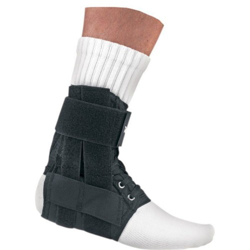 Donjoy RocketSoc Lace-Up Low-profile Ankle Support, Size: Medium, Left,