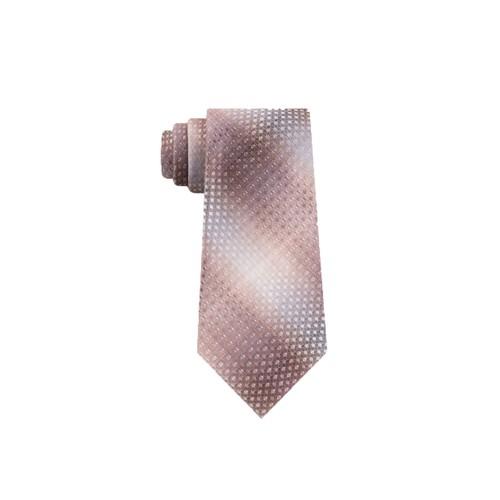 Van Heusen Men's The Cardenas Ombre Tie Beige Size Regular